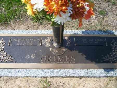 GRIMES, BENJAMIN FRANLKIN - Columbia County, Arkansas | BENJAMIN FRANLKIN GRIMES - Arkansas Gravestone Photos