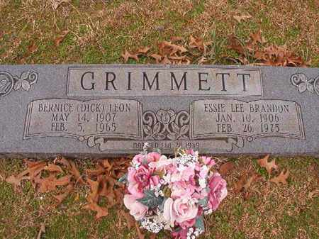BRANDON GRIMMETT, ESSIE LEE - Columbia County, Arkansas | ESSIE LEE BRANDON GRIMMETT - Arkansas Gravestone Photos