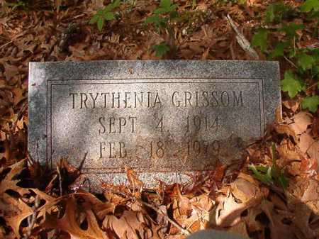 GRISSOM, TRYTHENIA - Columbia County, Arkansas | TRYTHENIA GRISSOM - Arkansas Gravestone Photos
