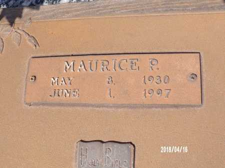 GROVES, MAURICE P - Columbia County, Arkansas | MAURICE P GROVES - Arkansas Gravestone Photos