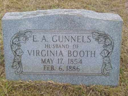 GUNNELS, EAZELL ALE - Columbia County, Arkansas | EAZELL ALE GUNNELS - Arkansas Gravestone Photos