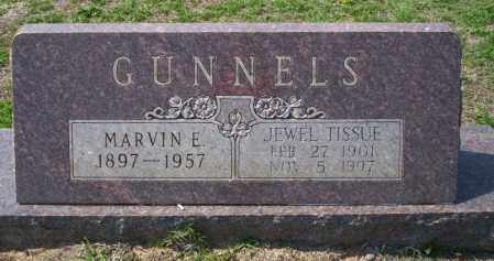TISSUE GUNNELS, JEWELL - Columbia County, Arkansas | JEWELL TISSUE GUNNELS - Arkansas Gravestone Photos