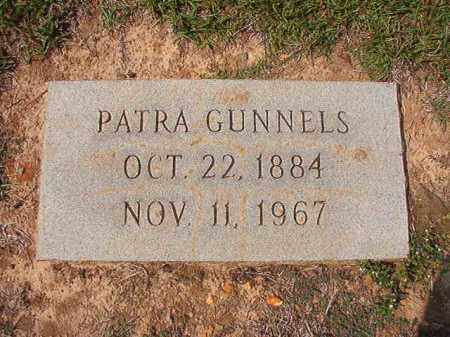 GUNNELS, PATRA - Columbia County, Arkansas | PATRA GUNNELS - Arkansas Gravestone Photos