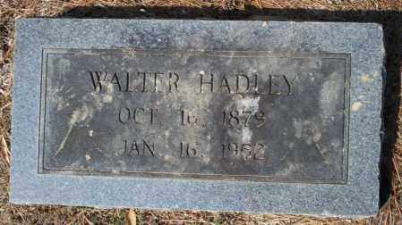 HADLEY, WALTER - Columbia County, Arkansas | WALTER HADLEY - Arkansas Gravestone Photos