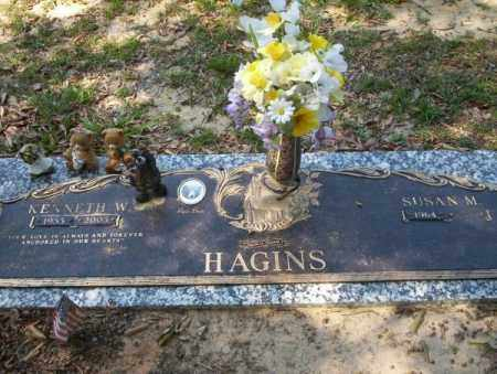 HAGINS, KENNETH W - Columbia County, Arkansas | KENNETH W HAGINS - Arkansas Gravestone Photos
