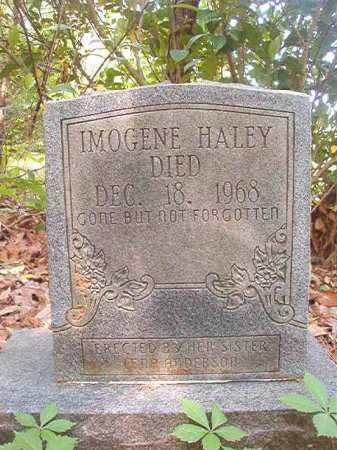 HALEY, IMOGENE - Columbia County, Arkansas | IMOGENE HALEY - Arkansas Gravestone Photos