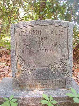 HALEY, IMOGENE - Columbia County, Arkansas   IMOGENE HALEY - Arkansas Gravestone Photos