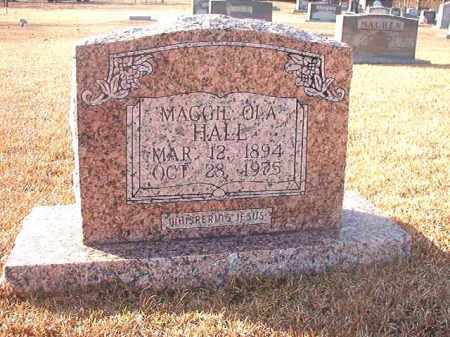 HALL, MAGGIE OLA - Columbia County, Arkansas | MAGGIE OLA HALL - Arkansas Gravestone Photos