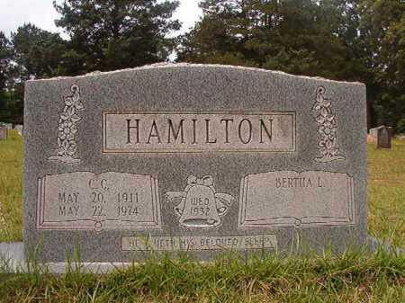 HAMILTON, C C - Columbia County, Arkansas | C C HAMILTON - Arkansas Gravestone Photos