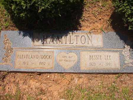 HAMILTON, BESSIE LEE - Columbia County, Arkansas | BESSIE LEE HAMILTON - Arkansas Gravestone Photos