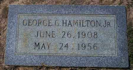 HAMILTON JR., GEORGE G - Columbia County, Arkansas | GEORGE G HAMILTON JR. - Arkansas Gravestone Photos