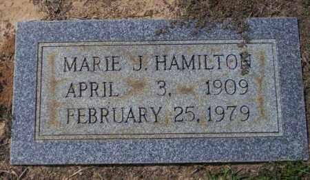 HAMILTON, MARIE J - Columbia County, Arkansas | MARIE J HAMILTON - Arkansas Gravestone Photos
