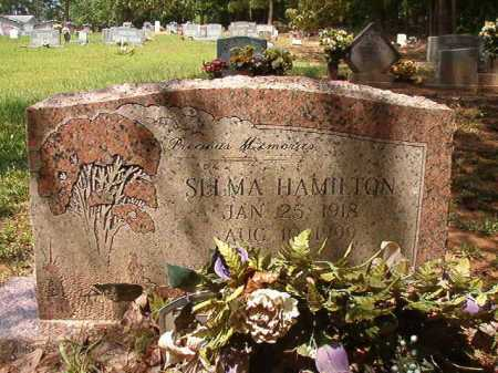 HAMILTON, SELMA - Columbia County, Arkansas | SELMA HAMILTON - Arkansas Gravestone Photos