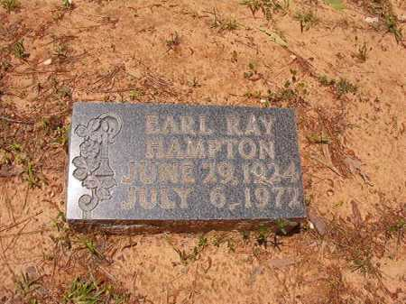 HAMPTON, EARL RAY - Columbia County, Arkansas | EARL RAY HAMPTON - Arkansas Gravestone Photos
