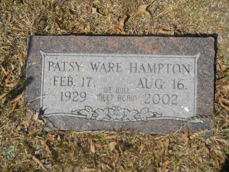 HAMPTON, PATSY WARE - Columbia County, Arkansas | PATSY WARE HAMPTON - Arkansas Gravestone Photos