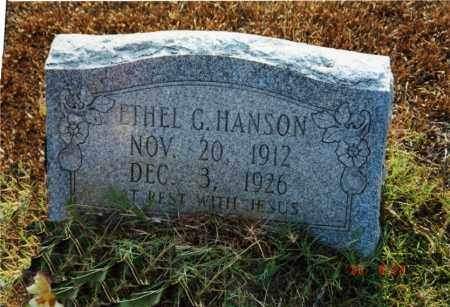 HANSON, ETHEL G. - Columbia County, Arkansas | ETHEL G. HANSON - Arkansas Gravestone Photos