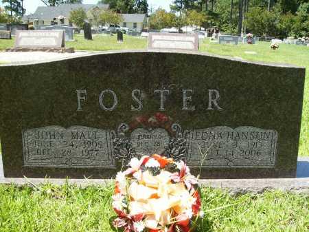 FOSTER, EDNA HANSON - Columbia County, Arkansas | EDNA HANSON FOSTER - Arkansas Gravestone Photos
