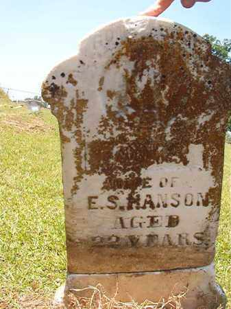 HANSON, JULIA - Columbia County, Arkansas | JULIA HANSON - Arkansas Gravestone Photos