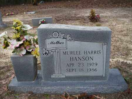 HANSON, MURLEE - Columbia County, Arkansas | MURLEE HANSON - Arkansas Gravestone Photos