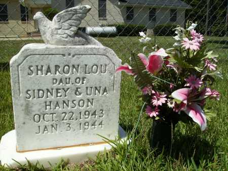 HANSON, SHARON LOU - Columbia County, Arkansas | SHARON LOU HANSON - Arkansas Gravestone Photos