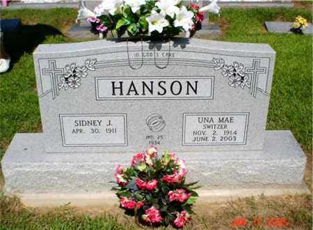 HANSON, UNA MAE - Columbia County, Arkansas | UNA MAE HANSON - Arkansas Gravestone Photos