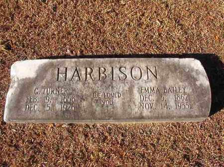 BAILEY HARBISON, EMMA - Columbia County, Arkansas | EMMA BAILEY HARBISON - Arkansas Gravestone Photos