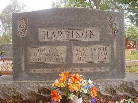 HARBISON, JIM BOB - Columbia County, Arkansas | JIM BOB HARBISON - Arkansas Gravestone Photos