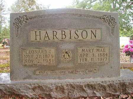 HARBISON, LEONARD T - Columbia County, Arkansas | LEONARD T HARBISON - Arkansas Gravestone Photos