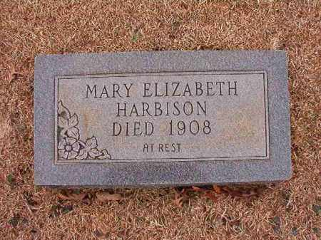 HARBISON, MARY ELIZABETH - Columbia County, Arkansas | MARY ELIZABETH HARBISON - Arkansas Gravestone Photos