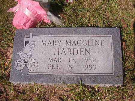 HARDEN, MARY MAGGLINE - Columbia County, Arkansas | MARY MAGGLINE HARDEN - Arkansas Gravestone Photos