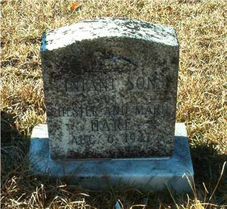 HARE, INFANT SON - Columbia County, Arkansas | INFANT SON HARE - Arkansas Gravestone Photos