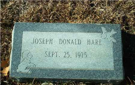 HARE, JOSEPH DONALD - Columbia County, Arkansas | JOSEPH DONALD HARE - Arkansas Gravestone Photos