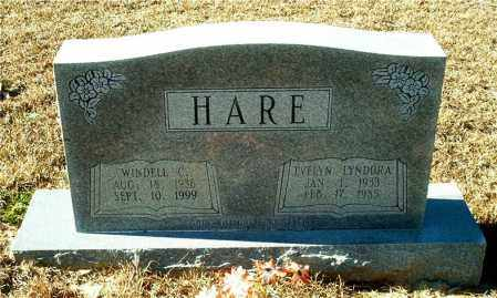 HARE, EVELYN LYNDORA - Columbia County, Arkansas | EVELYN LYNDORA HARE - Arkansas Gravestone Photos