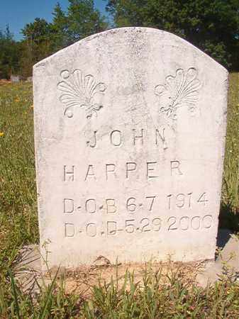 HARPER, JOHN - Columbia County, Arkansas | JOHN HARPER - Arkansas Gravestone Photos
