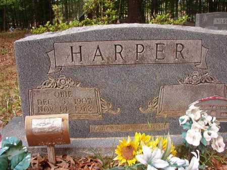 HARPER, OBIE - Columbia County, Arkansas | OBIE HARPER - Arkansas Gravestone Photos