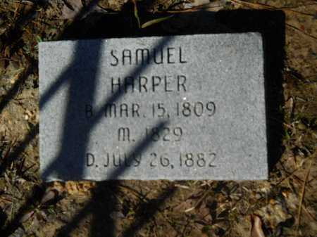HARPER, SAMUEL - Columbia County, Arkansas | SAMUEL HARPER - Arkansas Gravestone Photos