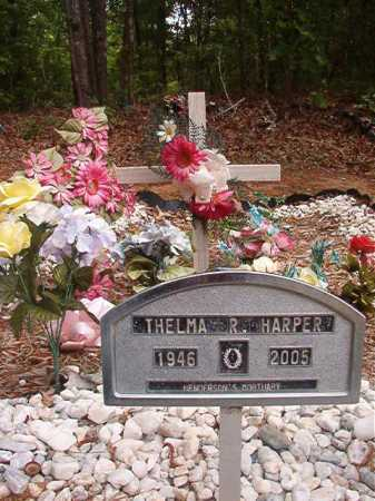 HARPER, THELMA R - Columbia County, Arkansas | THELMA R HARPER - Arkansas Gravestone Photos