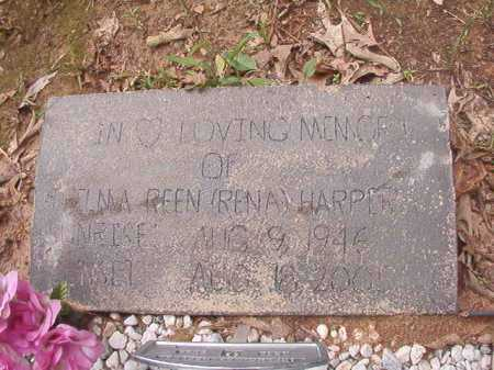 HARPER, THELMA REEN (RENA) - Columbia County, Arkansas   THELMA REEN (RENA) HARPER - Arkansas Gravestone Photos