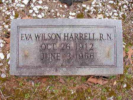 WILSON HARRELL, EVA - Columbia County, Arkansas | EVA WILSON HARRELL - Arkansas Gravestone Photos