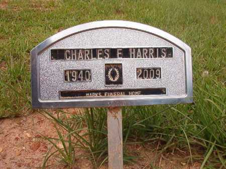 HARRIS, CHARLES E - Columbia County, Arkansas | CHARLES E HARRIS - Arkansas Gravestone Photos