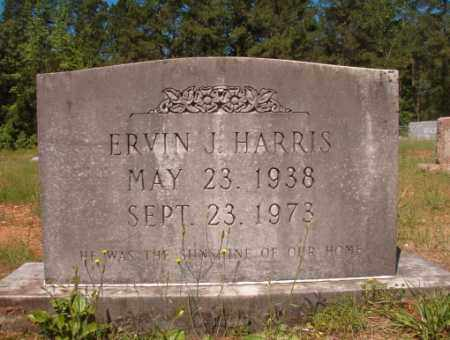 HARRIS, ERVIN J - Columbia County, Arkansas | ERVIN J HARRIS - Arkansas Gravestone Photos