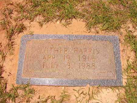 HARRIS, LUTHER - Columbia County, Arkansas | LUTHER HARRIS - Arkansas Gravestone Photos