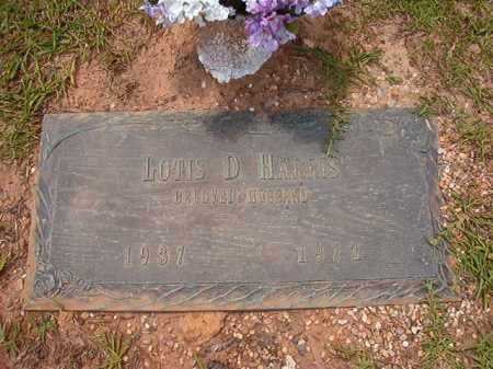 HARRIS, LOTIS D - Columbia County, Arkansas | LOTIS D HARRIS - Arkansas Gravestone Photos