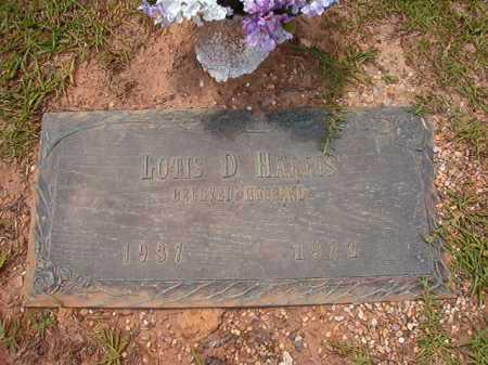 HARRIS, LOTIS D - Columbia County, Arkansas | LOTIS D HARRIS - Arkansas Gravestone Photos