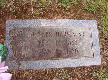 HARRIS, SR, BRITHER - Columbia County, Arkansas | BRITHER HARRIS, SR - Arkansas Gravestone Photos
