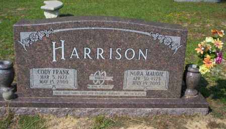 HARRISON, NORA MAUDIE - Columbia County, Arkansas | NORA MAUDIE HARRISON - Arkansas Gravestone Photos