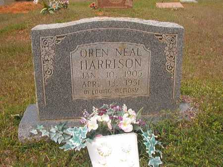 HARRISON, OREN NEAL - Columbia County, Arkansas | OREN NEAL HARRISON - Arkansas Gravestone Photos