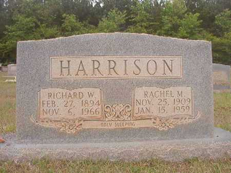 HARRISON, RACHEL M - Columbia County, Arkansas | RACHEL M HARRISON - Arkansas Gravestone Photos