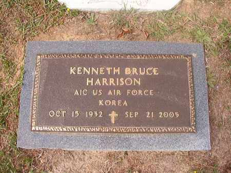 HARRISON (VETERAN KOR), KENNETH BRUCE - Columbia County, Arkansas | KENNETH BRUCE HARRISON (VETERAN KOR) - Arkansas Gravestone Photos