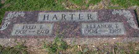 HARTER, ELEANOR T - Columbia County, Arkansas | ELEANOR T HARTER - Arkansas Gravestone Photos